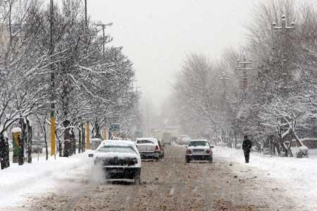 بارش برف و باران در 18 استان ، کاهش دما در بیشتر نقاط تهران