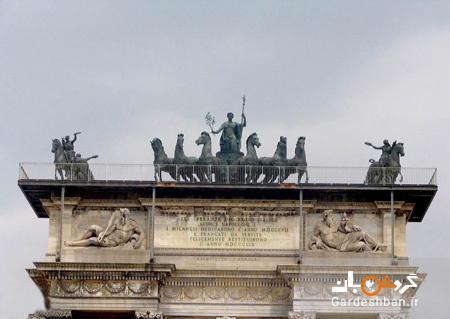طاق صلح؛ نشان پیروزی ناپلئون بناپارت در میلان، عکس