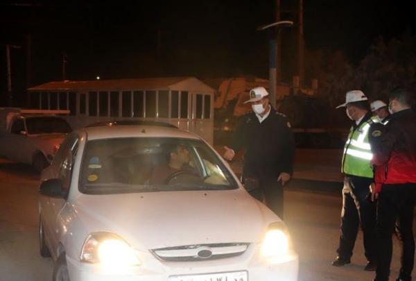 جریمه 55 هزار و 443 خودرو در طرح محدودیت شبانه