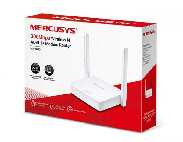 نگاهی به مودم +ADSL2 مرکوسیس MW-300D: مودم ارزانی که شما را غافل گیر می نماید