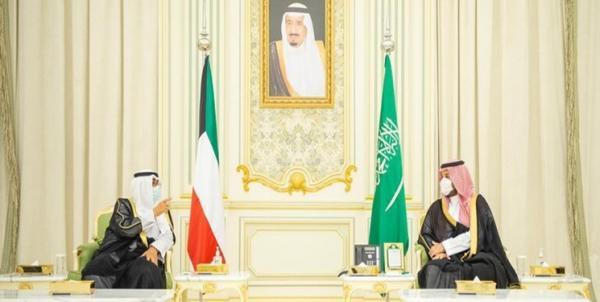 دیدار ولی عهد کویت با همتای سعودی خود در ریاض