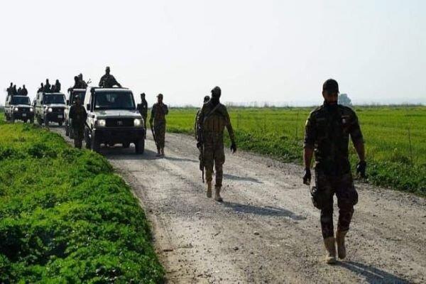 عملیات گسترده حشد شعبی علیه بقایای داعش در دیالی
