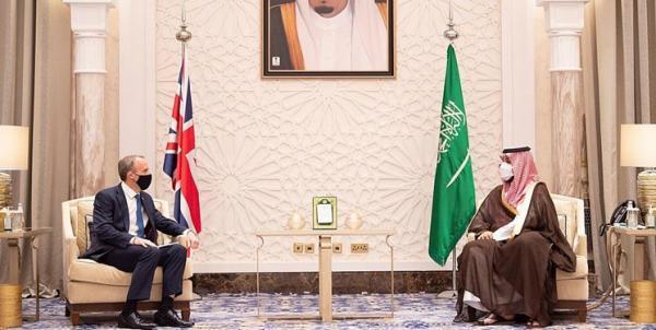 رایزنی وزیر خارجه انگلیس با ولی عهد سعودی درباره منطقه